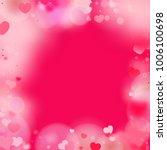 hearts random background. st.... | Shutterstock .eps vector #1006100698