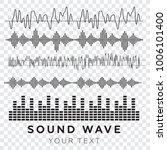 sound waves concept. sound...   Shutterstock .eps vector #1006101400