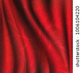 red silk backgrounds. drapery...   Shutterstock .eps vector #1006104220