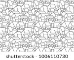 pattern or background with... | Shutterstock .eps vector #1006110730