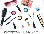 set of decorative cosmetics for ... | Shutterstock . vector #1006127743