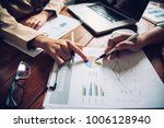 business team working with...   Shutterstock . vector #1006128940