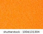 saturated orange foam  eva ... | Shutterstock . vector #1006131304
