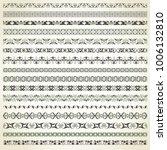 large set of seamless... | Shutterstock .eps vector #1006132810
