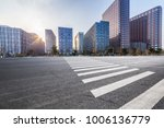 empty road with modern business ... | Shutterstock . vector #1006136779
