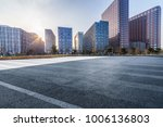 empty road with modern business ... | Shutterstock . vector #1006136803