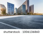 empty road with modern business ... | Shutterstock . vector #1006136860