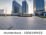modern building and beautiful... | Shutterstock . vector #1006140433