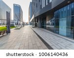 modern building and beautiful... | Shutterstock . vector #1006140436