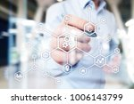iot. internet of things.... | Shutterstock . vector #1006143799