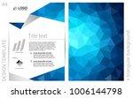 dark blue vector  cover for... | Shutterstock .eps vector #1006144798