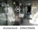 organisation structure chart ... | Shutterstock . vector #1006150606