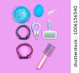 pet supplies have collars.... | Shutterstock . vector #1006156540