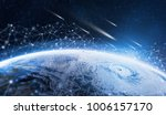 global network for the exchange ... | Shutterstock . vector #1006157170