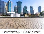 empty floor with panoramic...   Shutterstock . vector #1006164904