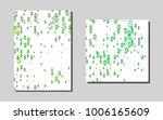 dark greenvector layout for...