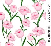beautiful seamless pattern.... | Shutterstock .eps vector #1006174729