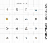 travel and vacation icons   05 | Shutterstock .eps vector #1006180528