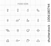 food icons   06 | Shutterstock .eps vector #1006180744