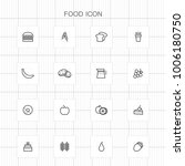 food icons   05 | Shutterstock .eps vector #1006180750