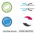 c letter  logo template design... | Shutterstock .eps vector #1006184350