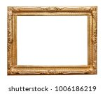 baroque picture frame | Shutterstock . vector #1006186219
