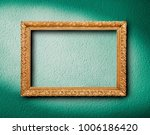 picture frame on wall | Shutterstock . vector #1006186420
