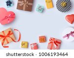 gift boxes for sale banner... | Shutterstock . vector #1006193464
