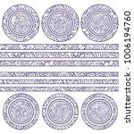 set of decorative elements ... | Shutterstock .eps vector #1006194760