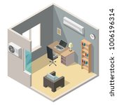 isometric air conditioning... | Shutterstock .eps vector #1006196314