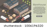 isometric warehouse exterior of ... | Shutterstock .eps vector #1006196320