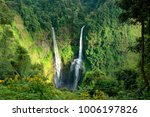 the tad fane waterfall  on the... | Shutterstock . vector #1006197826