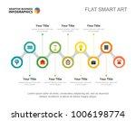 seven options management slide... | Shutterstock .eps vector #1006198774