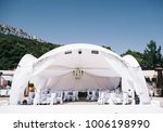 beautifully decorated wedding... | Shutterstock . vector #1006198990