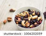 Mixed Dried Fruits And Nuts In...