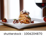 this typical sicilian dish is a ... | Shutterstock . vector #1006204870