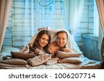 the happy couple in a photo... | Shutterstock . vector #1006207714