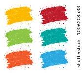 grunge brush stroke | Shutterstock .eps vector #1006208533