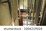 Small photo of Elevator Elevator doors Shaft