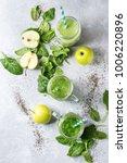 variety of three color green... | Shutterstock . vector #1006220896