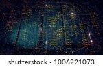 block chain network concept  ... | Shutterstock . vector #1006221073