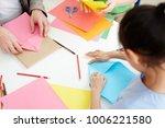secondary school learners using ...   Shutterstock . vector #1006221580