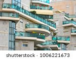 architecture abstract glass... | Shutterstock . vector #1006221673
