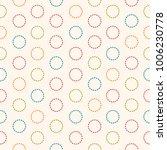 simple muticolor stroke dot... | Shutterstock .eps vector #1006230778