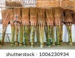 brooms for sale in kanchanaburi ...   Shutterstock . vector #1006230934