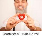 handsome beard man  with...   Shutterstock . vector #1006414690