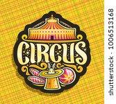 vector logo for circus | Shutterstock .eps vector #1006513168