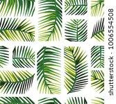 geometric arrangement palm... | Shutterstock .eps vector #1006554508