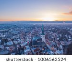 aerial view of city tallinn... | Shutterstock . vector #1006562524