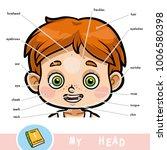 cartoon visual dictionary for... | Shutterstock .eps vector #1006580398